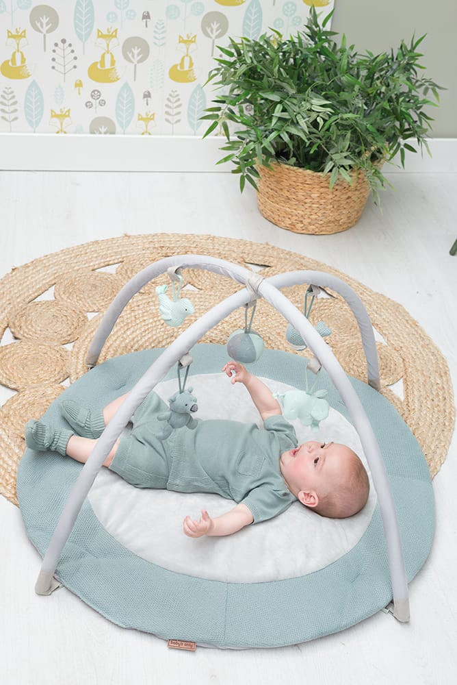 activity mat stonegreenmintwhite