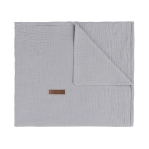 Baby crib blanket Breeze grey