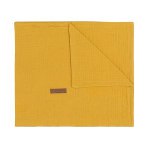 Baby crib blanket Breeze ochre