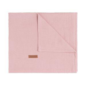 Baby crib blanket Breeze old pink