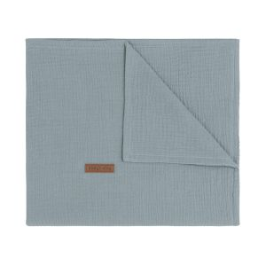 Baby crib blanket Breeze stonegreen