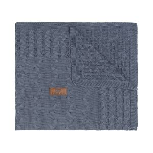 Baby crib blanket Cable granit