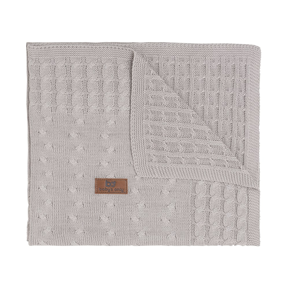 baby crib blanket cable loam
