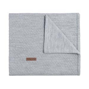 Baby crib blanket Cloud grey