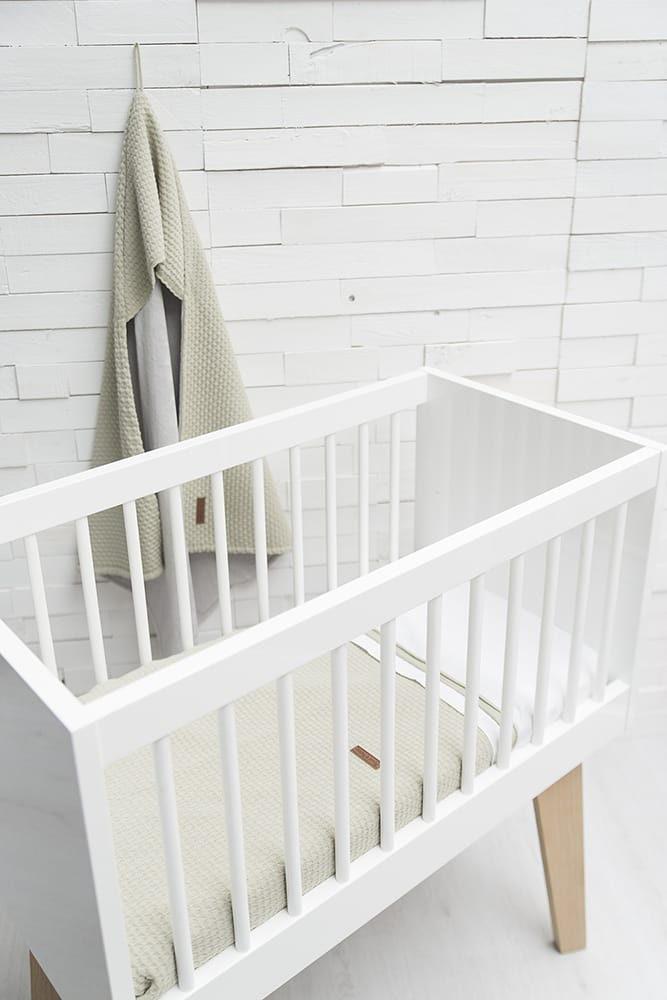 baby crib blanket cloud olive
