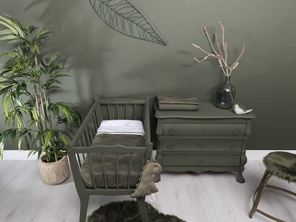 Baby Crib Blanket Marble Granit Grey, Grey Baby Furniture