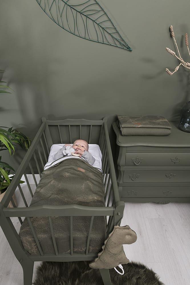 baby crib blanket marble greysilvergrey