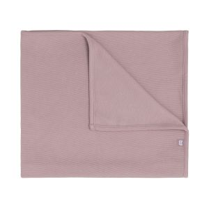 Baby crib blanket Pure old pink