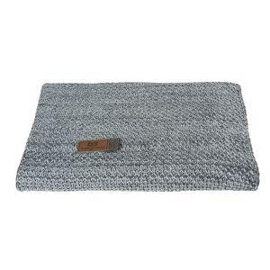 Baby crib blanket River anthracite/grey melee