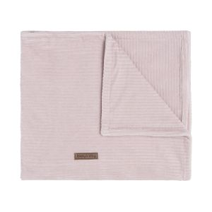 Baby crib blanket Sense old pink