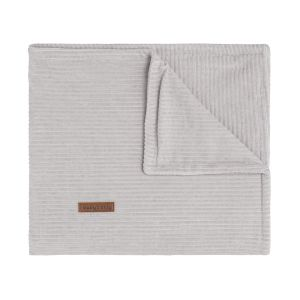 Baby crib blanket Sense pebble grey