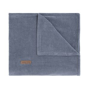 Baby crib blanket Sense vintage blue