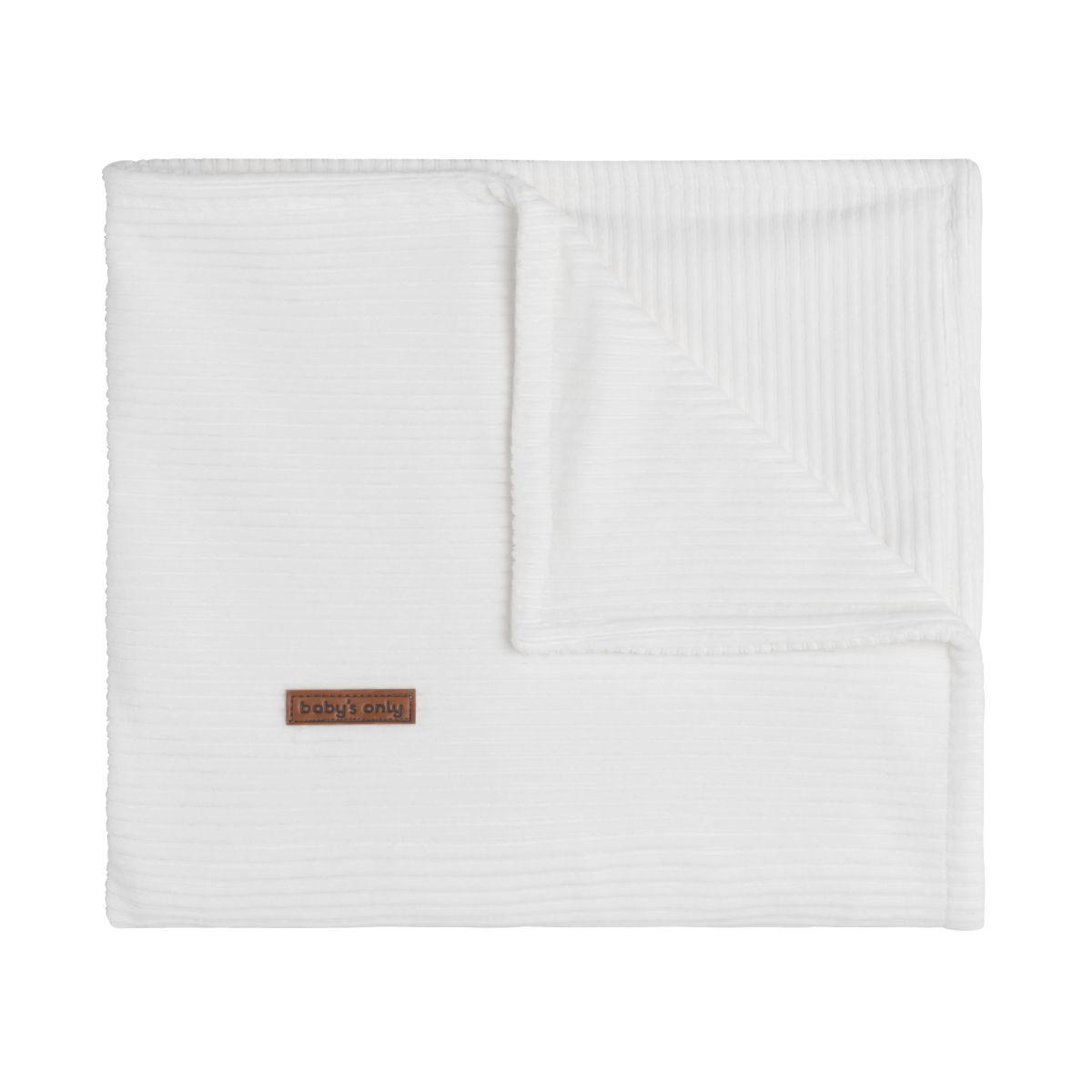 baby crib blanket sense white