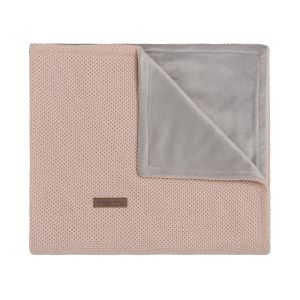 Baby crib blanket soft Classic blush