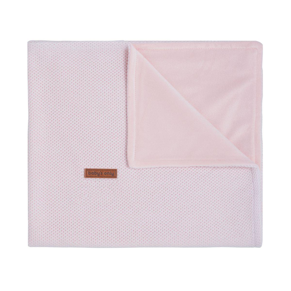 baby crib blanket soft classic pink