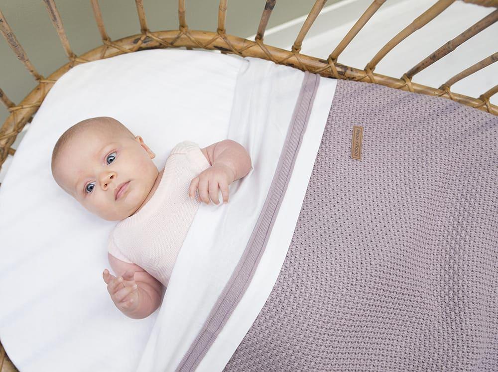 baby crib blanket soft flavor ochre