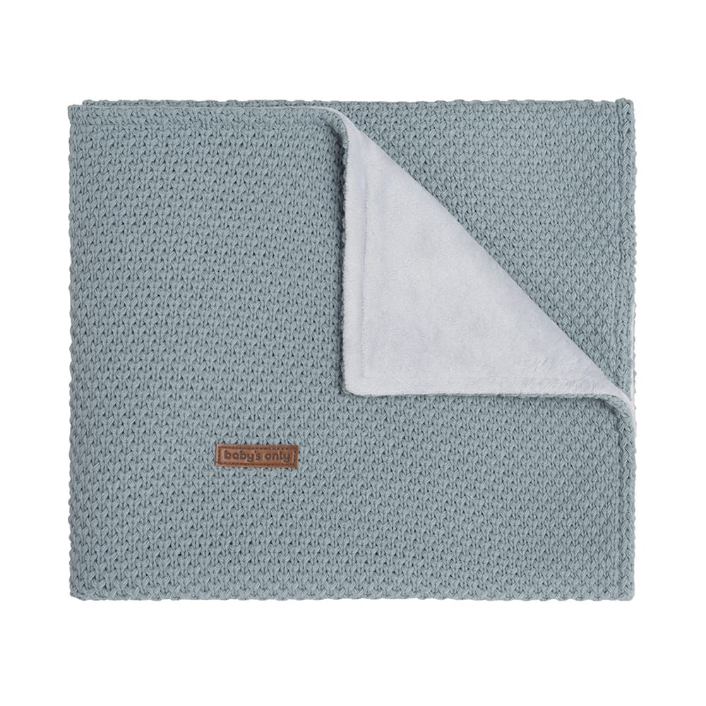 baby crib blanket soft flavor stonegreen