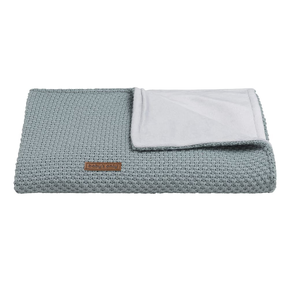 baby crib blanket soft flavor stonegreen