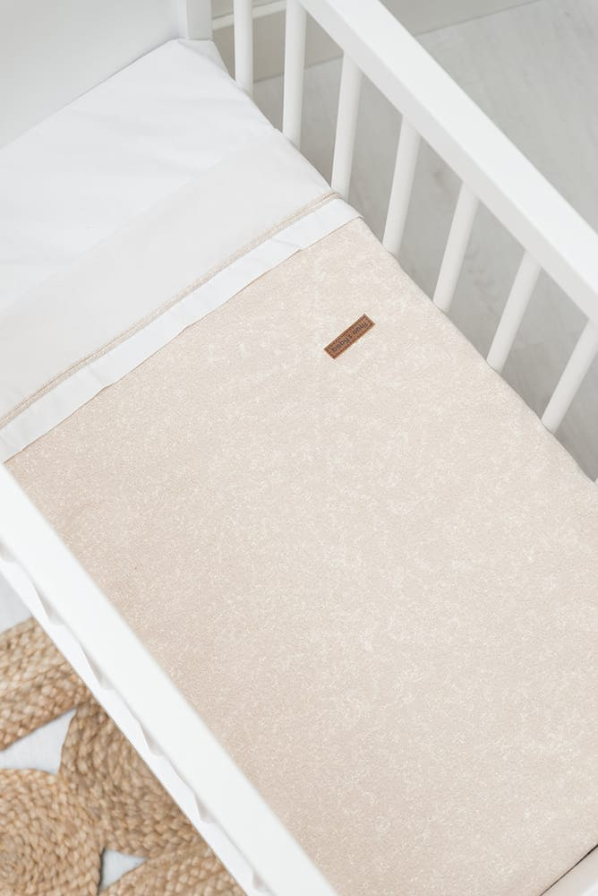 baby crib blanket soft sparkle copperhoney melee