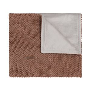 Baby crib blanket soft Sparkle-Flavor copper-honey melee