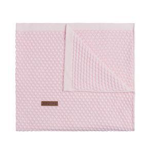 Baby crib blanket Sun classic pink/baby pink