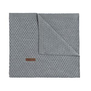 Baby crib blanket Sun grey/silver-grey