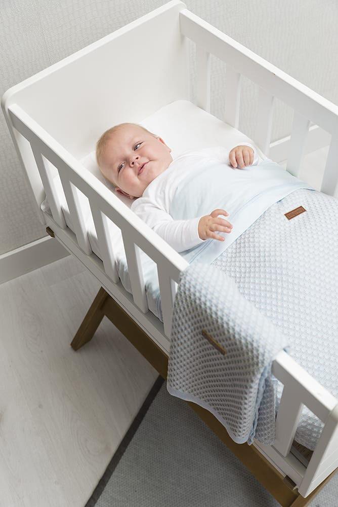 baby crib blanket sun mintstonegreen