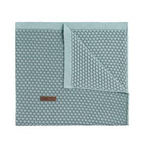 Baby crib blanket Sun mint/stonegreen