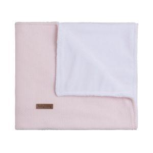 Baby crib blanket teddy Classic pink