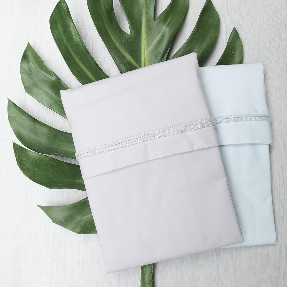 baby crib sheet mint