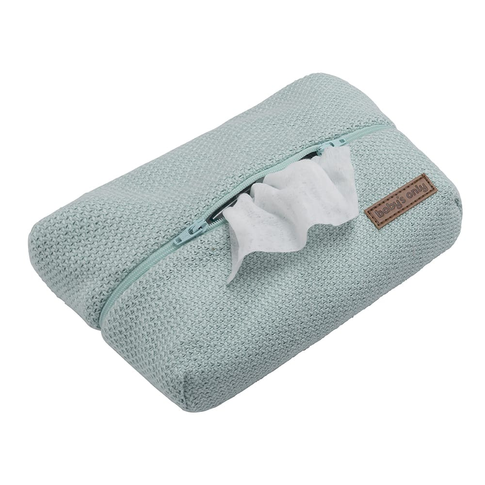 baby wipes pouch classic mint