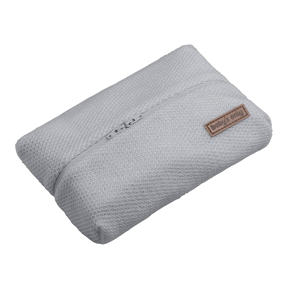 baby wipes pouch classic silvergrey