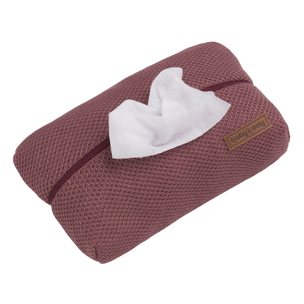 baby wipes pouch classic stone red