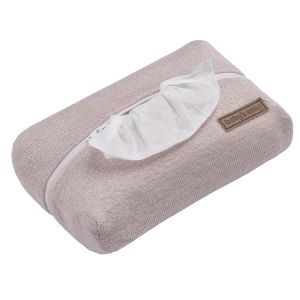Baby wipes pouch Sparkle silver-pink melee