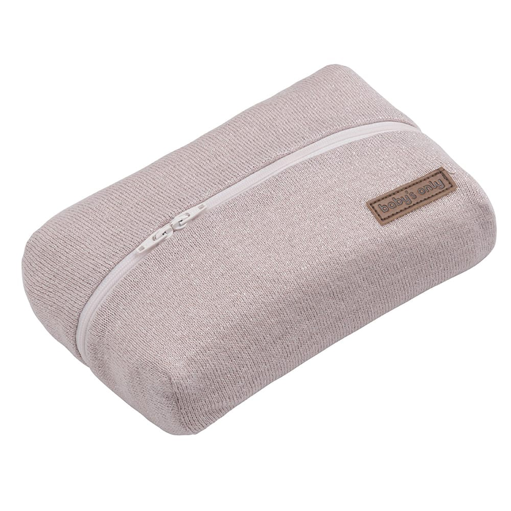 baby wipes pouch sparkle silverpink melee