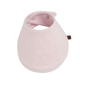 Bandana bib Melange classic pink