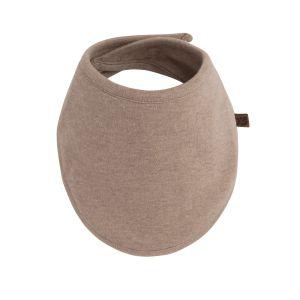 Bandana bib Melange clay