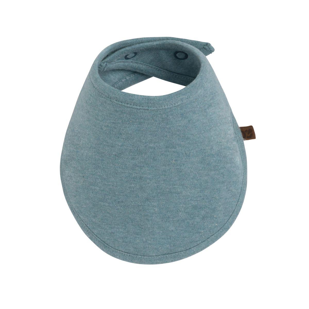 bandana bib melange stonegreen