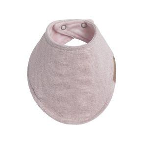 Bandana bib Sparkle silver-pink melee