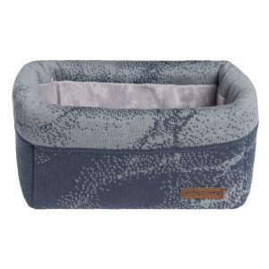 Basket Marble granit/grey