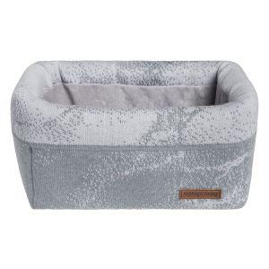 Basket Marble grey/silver-grey