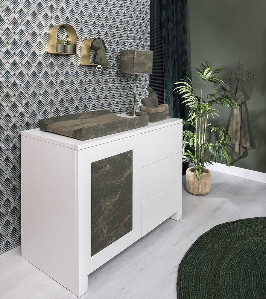 basket marble khakiolive
