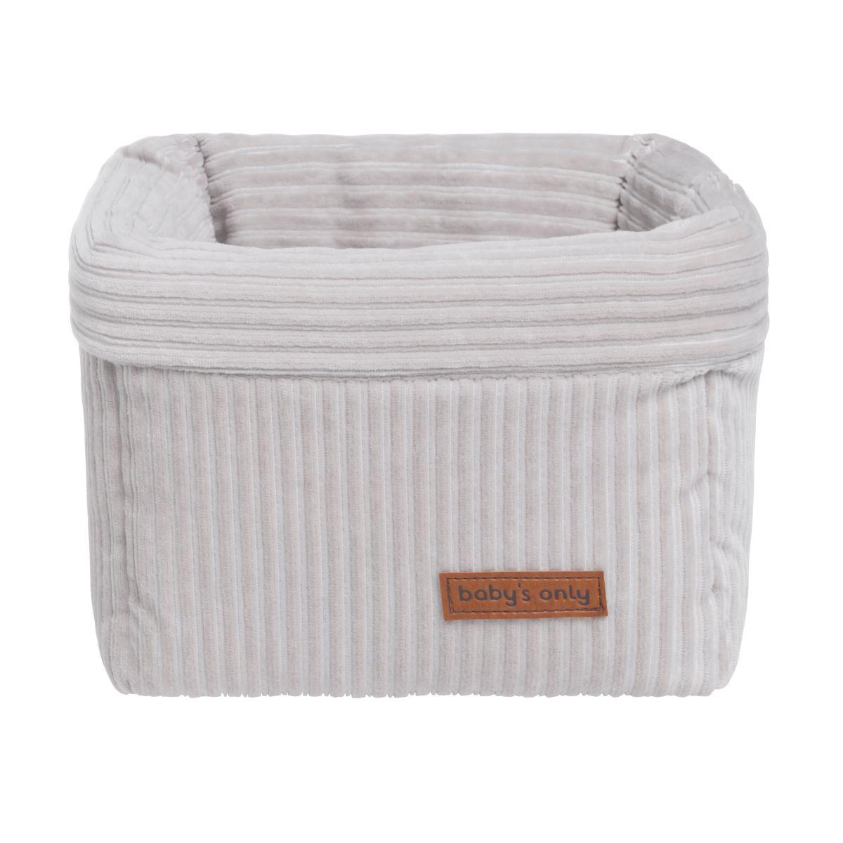 basket sense pebble grey