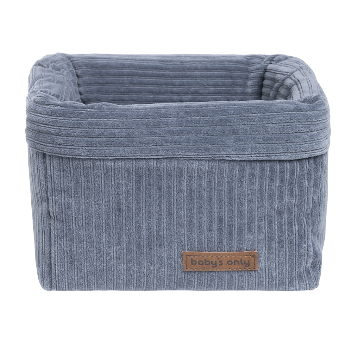 basket sense vintage blue