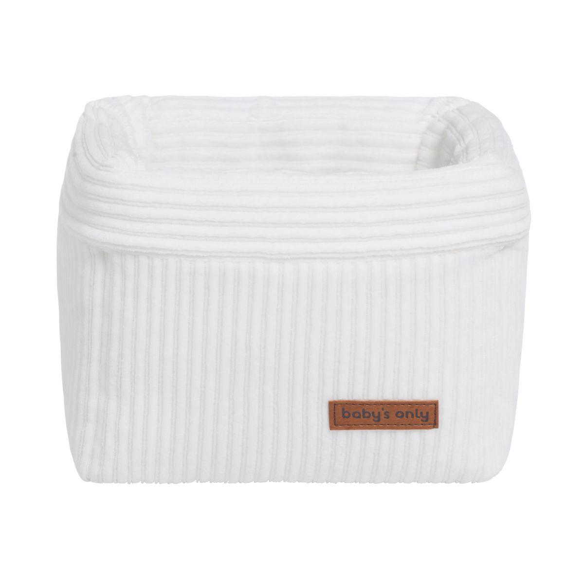 basket sense white