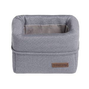 Basket Sparkle silver-grey melee