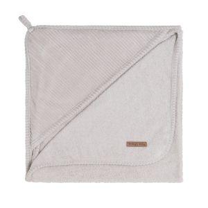 Bathcape Sense pebble grey - 75x85