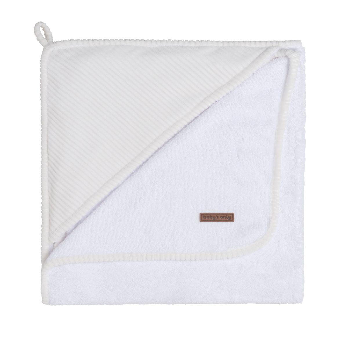 bathcape sense white 75x85