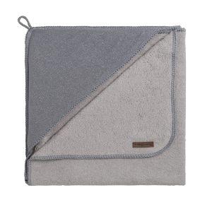 Bathcape Sparkle silver-grey mêlee - 75x85