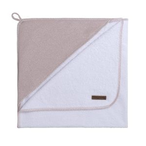 Bathcape Sparkle silver-pink melee - 75x85